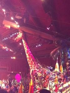 Disney com Crianças Show do Rei Leão Festival Of The Lion King Animal Kingdom