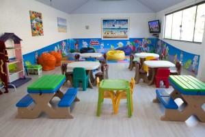 Hotel com crianças Resort Infinity Blue Balneário Camboriú área recreativa 2