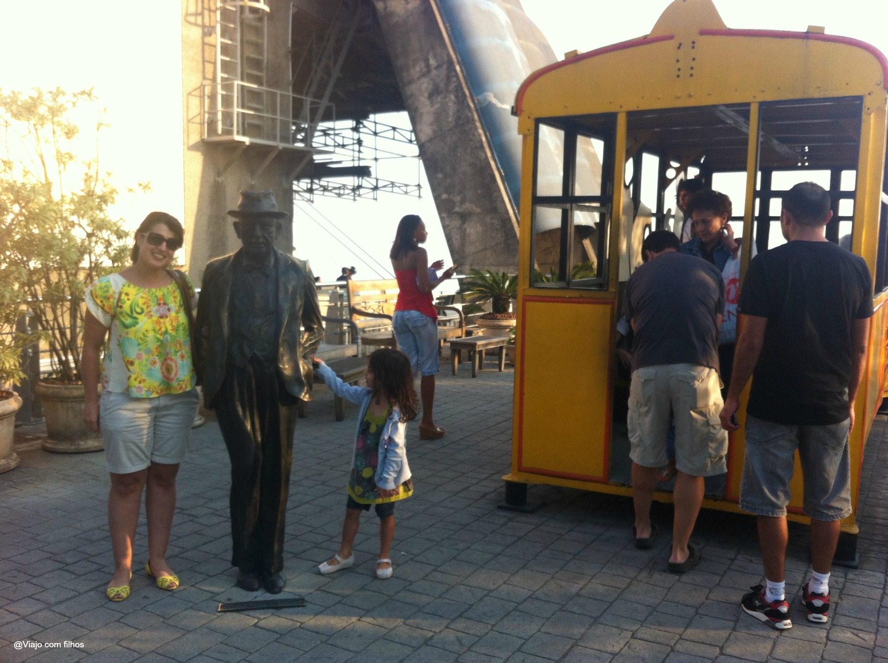 Bondinho Pão de Açúcar - Rio com crianças