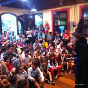 Casa da Bruxa Bosque do Alemão Curitiba com crianças