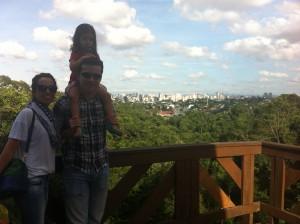 Bosque do Alemão Curitiba com crianças