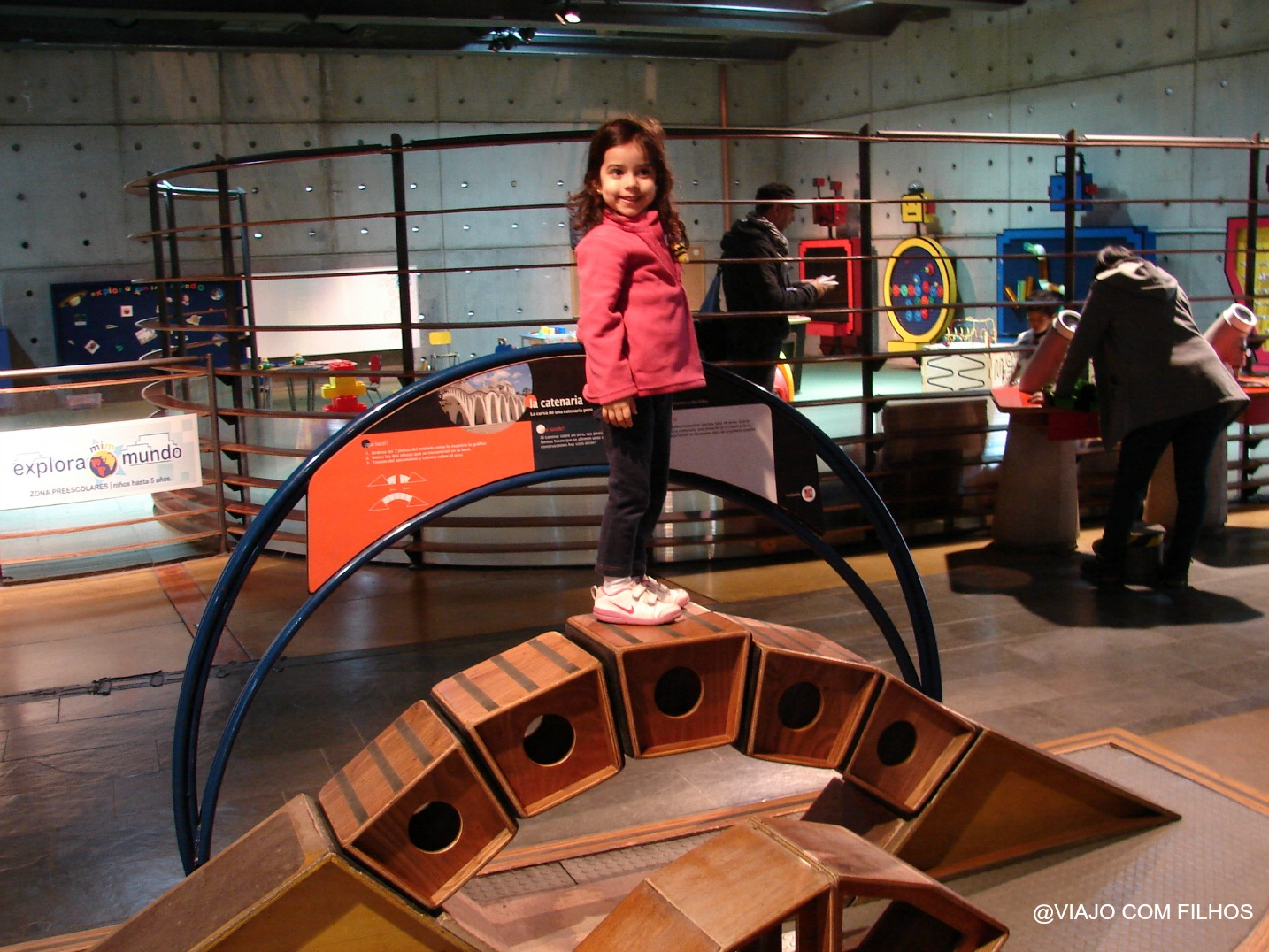 Museu de Ciências para as crianças - Santiago Chile
