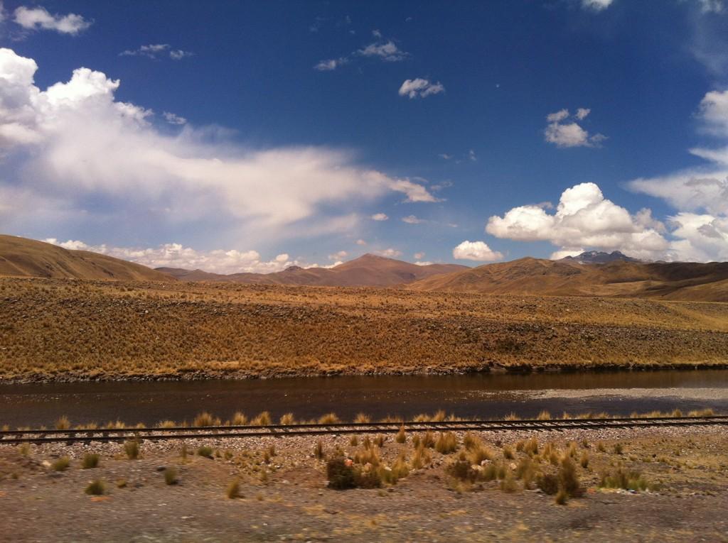 Paisagem Arequipa - Puno