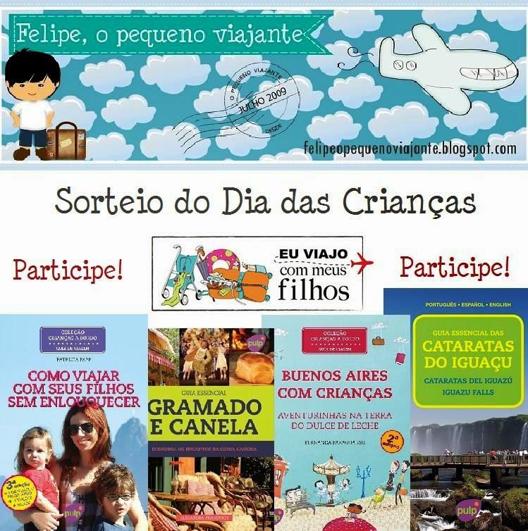 Sorteio de Guias de Viagem no blog Felipe, o Pequeno Viajante