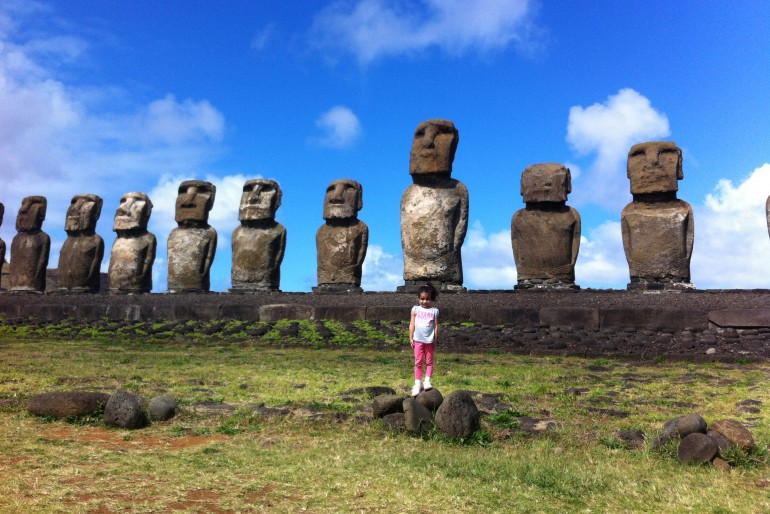 Ilha da Páscoa com crianças: o que tem para fazer na remota ilha do Chile