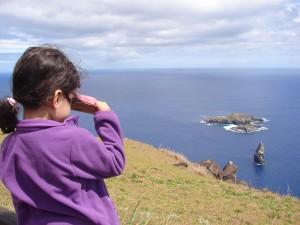 Orongo, Isla de Pascua, Chile viagem com filhos