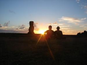 Ilha da Páscoa Chile com crianças