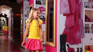 Barbie Dream House Experience Miami com Crianças Sawgrass Mills Sunrise Closet