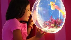 Barbie Dream House Experience Miami com crianças Sawgrass Mills Sunrise Barbie Sereia Exposição