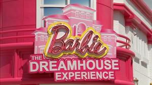 Barbie Dreamhouse Experience Miami com crianças Sawgrass Mills Sunrise Fachada