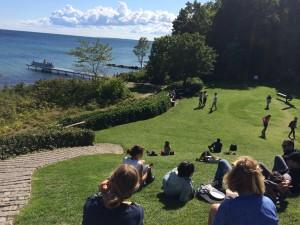 Dinamarca com Crianças Louisiana Piquenique Jardim