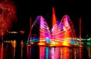 Dinamarca com crianças Copenhagen Tivoli Lake Natal Christmas Illuminations