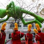 Kermit, o sapo dos Muppets é presença garantida no desfile da Macy's (foto: NBC News)