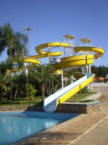 Panorâmico Parque Aquático próximo Curitiba