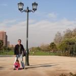 Santiago com crianças: Parque Araucano