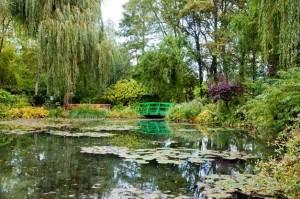 França com crianças França entre amigos Giverny Jardins Monet