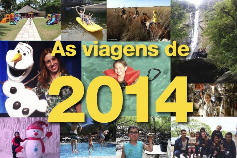 As viagens de 2014