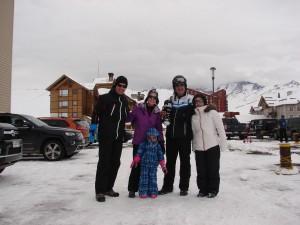 Valle Nevado Ski Resort - Chile com crianças