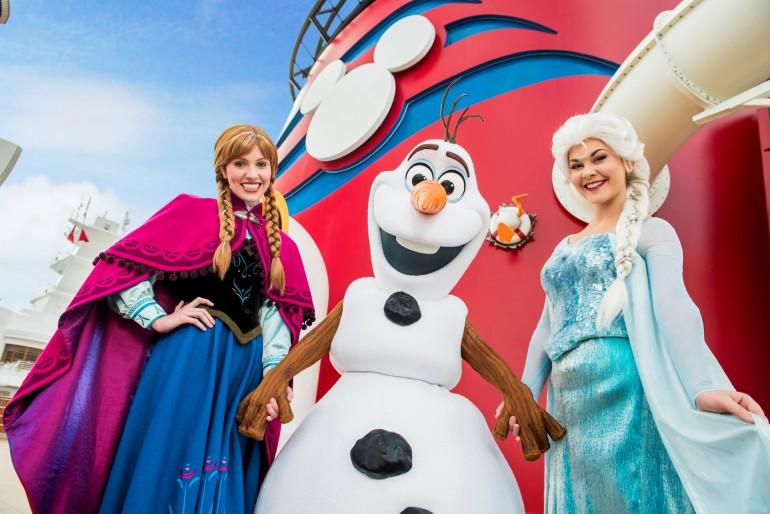 Cruzeiro Disney com atrações Frozen