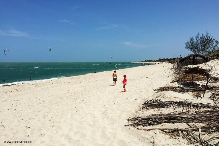 Praia Barra Grande (Piauí) com Crianças