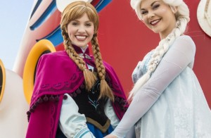 Disney Cruise Line Cruzeiro Frozen Elsa Anna