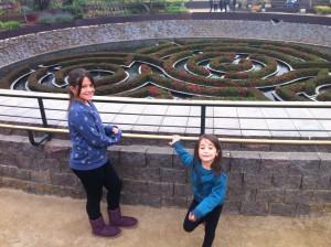 Labirinto de azaléias do Getty Center