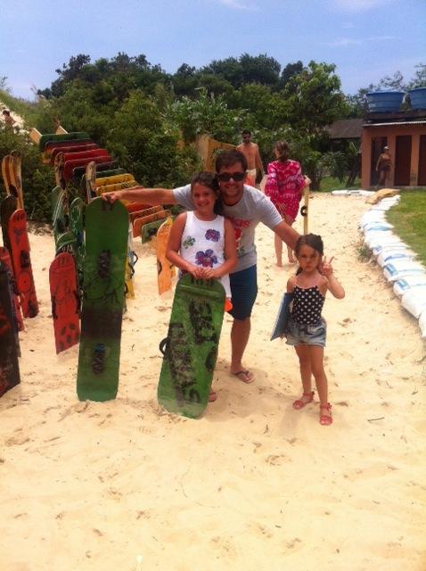 Férias com crianças em Garopaba, Santa Catarina