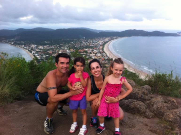 Férias com crianças em Canto Grande, Bombinhas Santa Catarina: Morro do Macaco