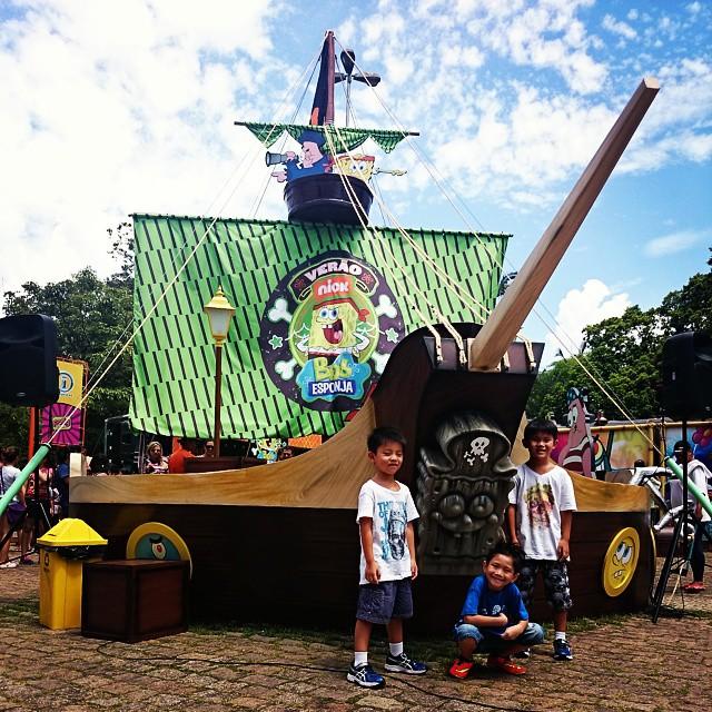 São Paulo com crianças no feriado