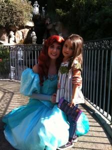 A Ariel foi a primeira personagem que encontramos!