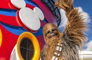 Dia Star Wars em Alto Mar Disney Cruise lines Chewbaccajpg