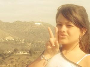 Marina na a tão esperada foto em Hollywood!