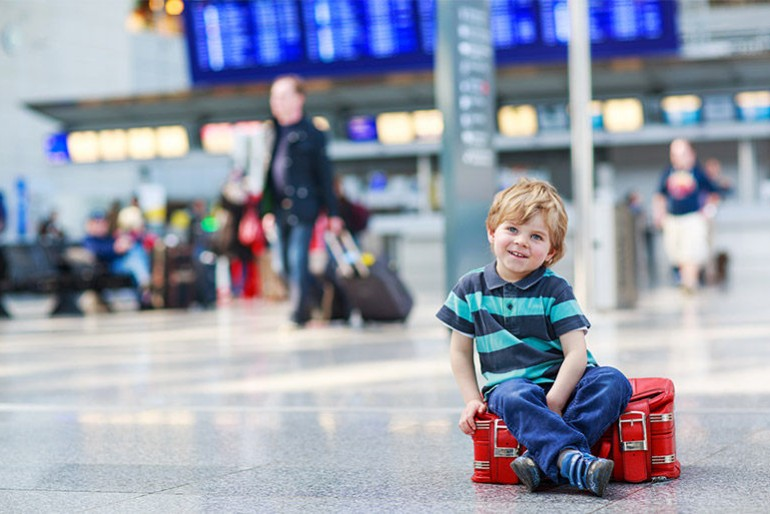 Voos KLM com crianças