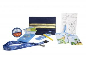 KLM com crianças_Bluey Kit1