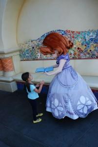 Encontramos também a Princesinha Sofia