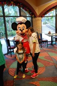 A Minnie também estava lá!