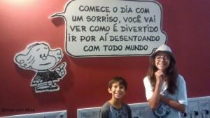 São Paulo com crianças: Exposição O mundo  de Mafalda