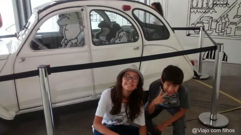 São Paulo com crianças: Exposição da Mafalda para todas as idades