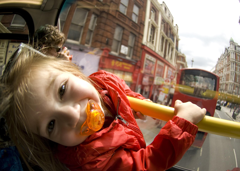 ônibus de 2 andares em Londres