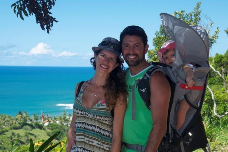 Trekking com bebê em Itacaré