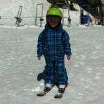 Valle Nevado Chile com crianças
