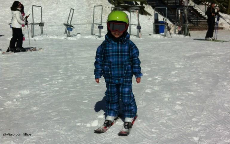Valle Nevado com crianças: aulas de esqui para os pequenos