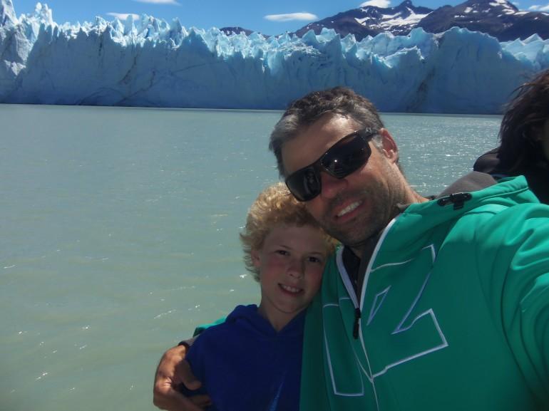 Patagônia de carro com criança: Pai e filho viajantes