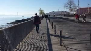 Passeio entre Praça do Comércio e Torre de Belém