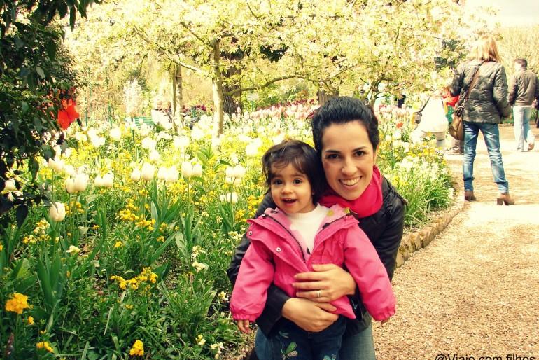 França com crianças: dica de hospedagem em Giverny
