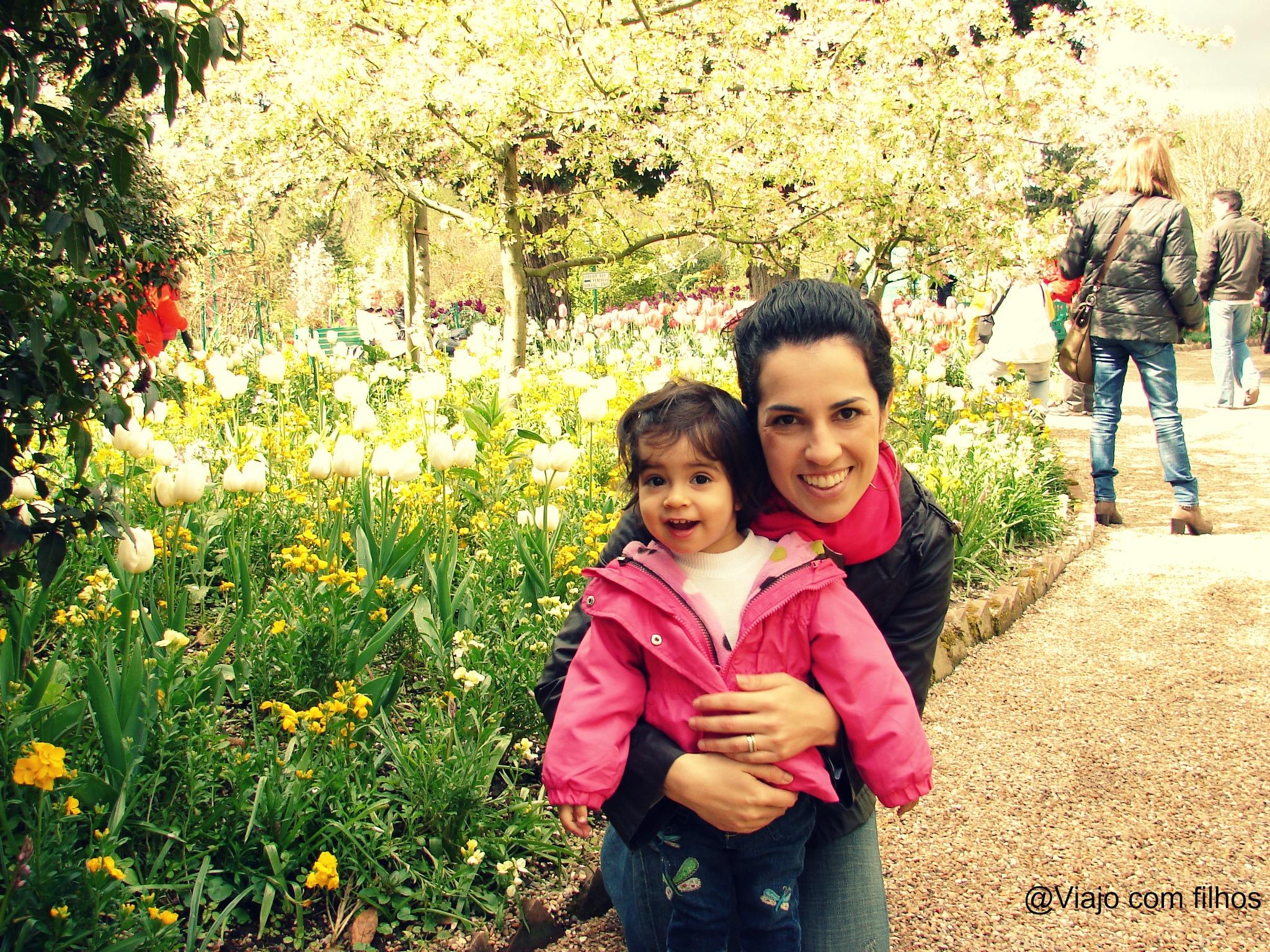 França com crianças: hospedagem em Giverny