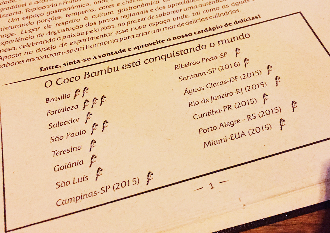 Coco Bambu Próximos Restaurante