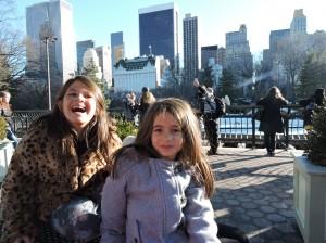 Meninas no Central Park