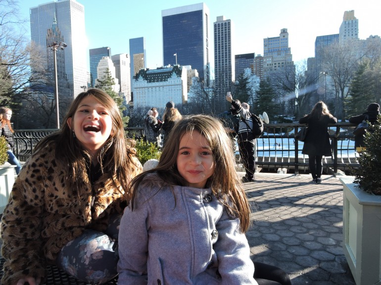 Nova York com as meninas
