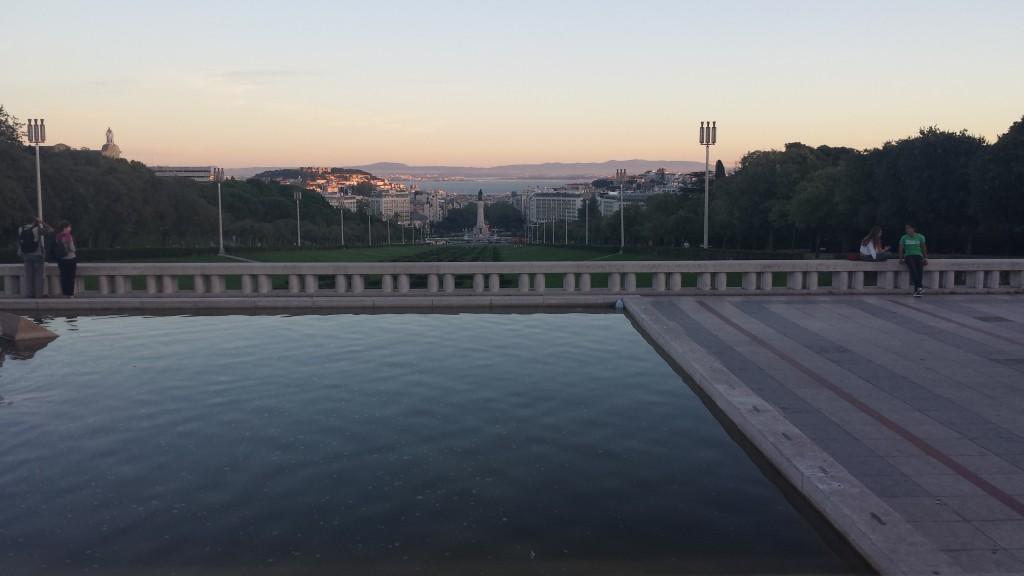 Vista de Lisboa do Parque Eduardo VII